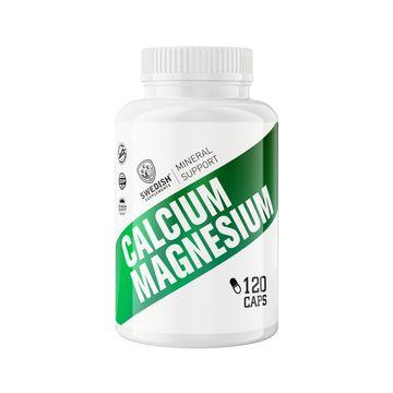 Swedish Supplements Calcium Magnesium Kapslar, 120 st