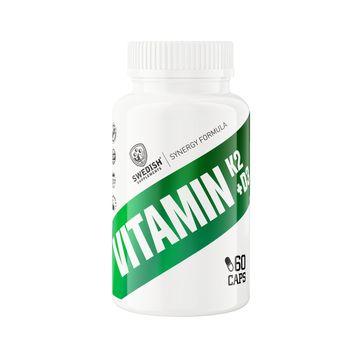 Swedish Supplements Vitamin K2 + D3 Kapslar, 60 st