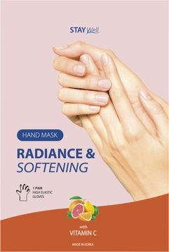 STAY Well Radiance & Softening Hand Mask C Vitamin Complex Handmask, 1 st