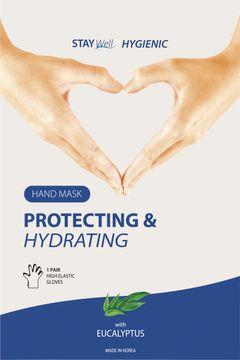 STAY Well Protecting & Hydrating Hand Mask Eucalyptus Handmask, 1 st