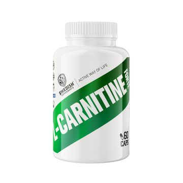 Swedish Supplements L-Carnitine Forte Kapslar, 60 st