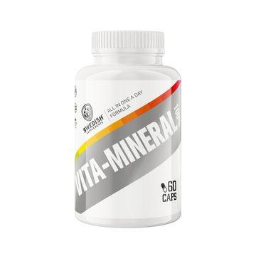 Swedish Supplements Vita-Mineral 100% Kapslar, 60 st