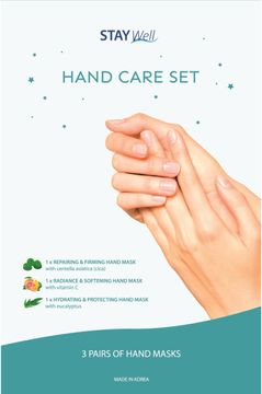 STAY Well Hand Care Handmask, 3 st