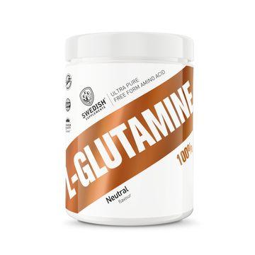 Swedish Supplements L-Glutamine 100% Pulver, 400 g