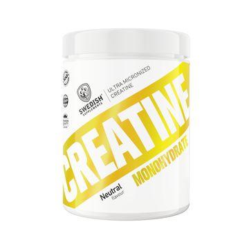 Swedish Supplements Creatine Monohydrate Pulver, 500 g