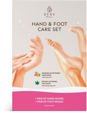 STAY Well Hand And Foot Masks Hand och fotmask, 2 st