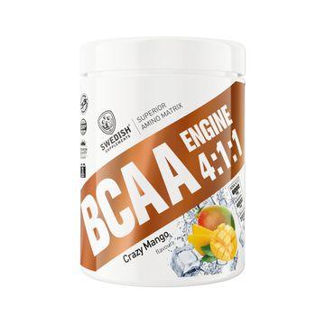 Swedish Supplements BCAA Engine 4.1.1 Crazy Mango Pulver, 400 g