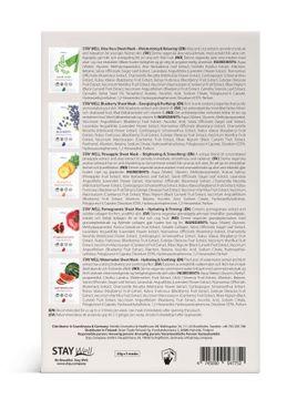 STAY Well Vegan Face Masks Ansiktsmask, 5 st