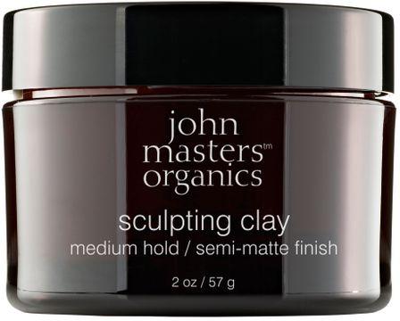 John Masters Organics Sculpting Clay Medium Hold Stylinglera, 57 g