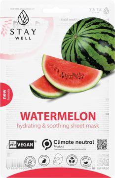 STAY Well Vegan Sheet Mask Watermelon Ansiktsmask, 20 g