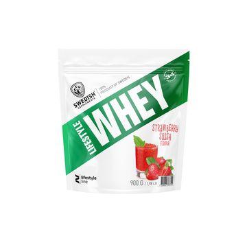 Swedish Supplements Lifestyle Whey Protein Strawberry Slush Pulver, 1 kg
