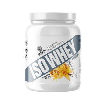 Swedish Supplements ISO Whey premium Essential Vanilla Pulver, 920 g