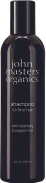 John Masters Organics Shampoo Fine Hair Rosemary & Peppermint Schampo, 236 ml