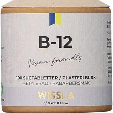 Wissla of Sweden Vitamin B12 Tabletter, 100 ml