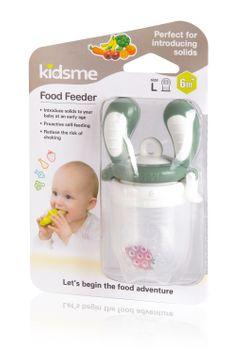 Kidsme FoodFeeder Grey 6m+ Mattillbehör, 1 st