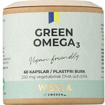 Wissla of Sweden Green Omega Kapslar, 100 ml