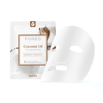 FOREO Farm To Face Coconut Oil Ansiktsmask, 3 st