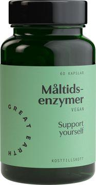 Great Earth Vegan Enzymes Kosttillskott, 60 st