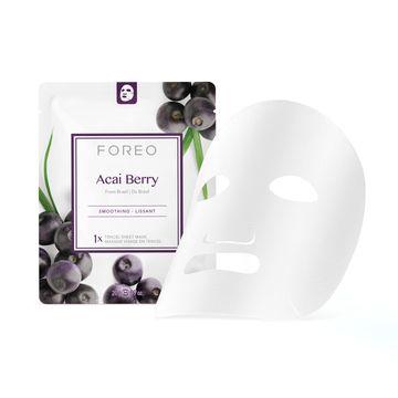 FOREO Farm To Face Acai Berry Ansiktsmask, 3 st