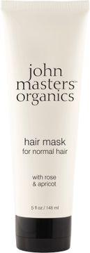 John Masters Organics Hair Mask Normal Hair Rose & Apricot Hårmask, 148 ml