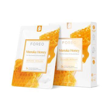 FOREO Farm To Face Manuka Honey Ansiktsmask, 3 st