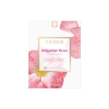 FOREO Farm To Face Bulgarian Rose Ansiktsmask, 3 st