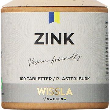 Wissla of Sweden Zink Tabletter, 100 ml