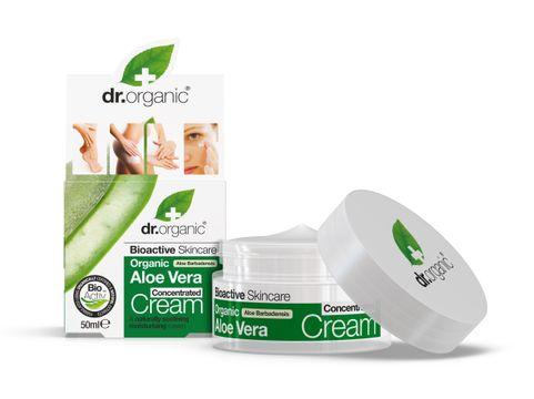 Dr Organic Aloe Vera Concentrated Cream Hudkräm, 50 ml