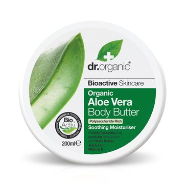 Dr Organic Aloe Vera Body Butter Kroppssmör, 200 ml
