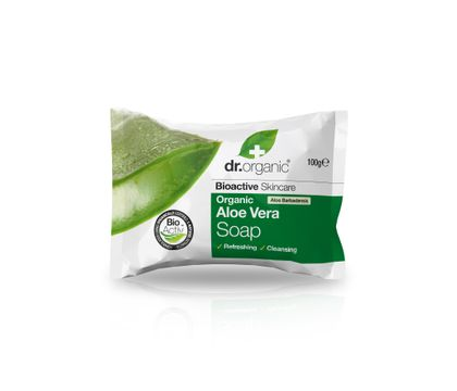 Dr Organic Aloe Vera Soap Duschtvål, 100 g