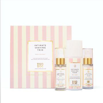 DeoDoc Intimate Shaving Trio Fragrance Free Rak-kit, 1 st