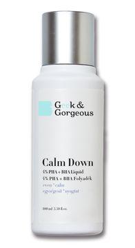 Geek & Gorgeous Calm Down PHA + BHA Exfoliering 100 ml