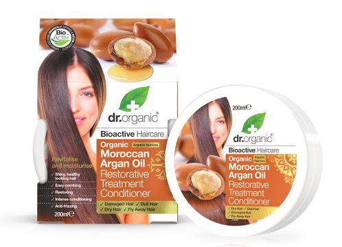Dr Organic Moroccan Argan Oil Conditioner Hårinpackning, 200 ml