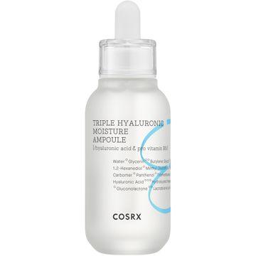 COSRX Hydrium Triple Hyaluronic Moisture Ampoule Ansiktsserum, 40 ml