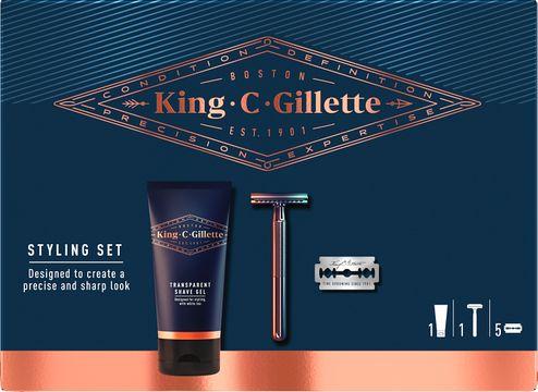 Gillette King C Styling Set Rak-kit