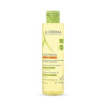 A-DERMA Exomega Control Shower Oil Duscholja, 200 ml
