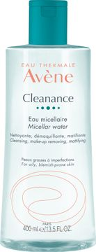 AVÈNE Cleanance Micellar Water Ansiktsvatten, 400 ml