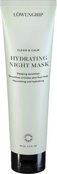 Löwengrip Clean & Calm Hydrating Night Mask Hårmask, 100 ml