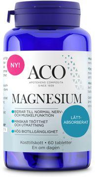 ACO Magnesium Tabletter, 60 st