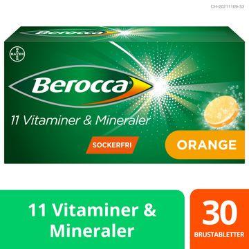 Berocca Energy Orange Brustabletter, 30 st