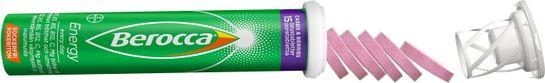 Berocca Energy Cassis & Berries Brustabletter, 15 st