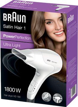 Braun Satin Hair 1 HD180 Hårfön Hårfön, 1 st