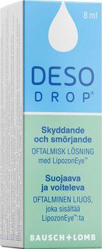 Busch + Lomb Desodrop Oftamalisk lösning för öga, 8 ml