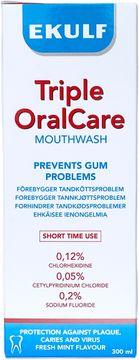 EKULF Triple Oral Care Munskölj, 300 ml