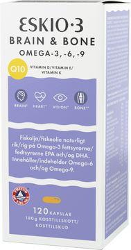 ESKIO-3 Brain & Bone Omega-3 Kapslar, 120 st
