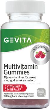 Gevita Multivitamin Gummies Tuggbara gummin, 60 st