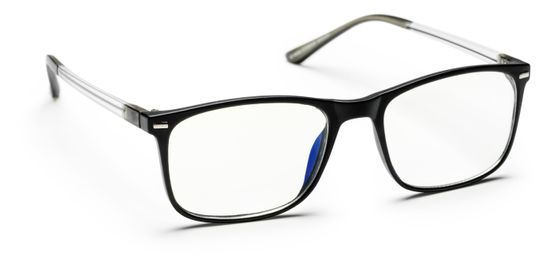 Haga Optik Silicon Valley E-läsglasögon +2,0 Glasögon, 1 st