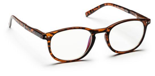 Haga Optik Jakarta E-läsglasögon +2,5 Glasögon, 1 st