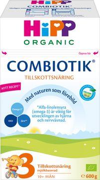 Hipp Combiotik 3 Pulver Modersmjölksersättning Pulver, 600 g