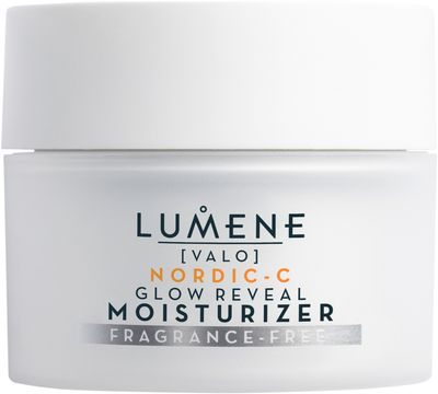 Lumene Nordic-C Valo Glow Reveal Moisturizer Fragrance Free Ansiktskräm, 50 ml